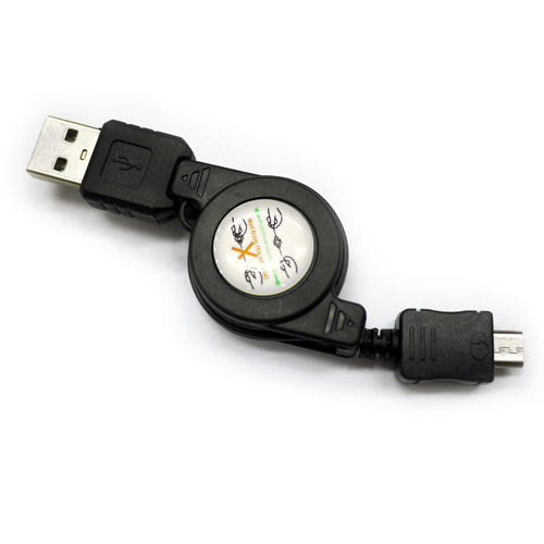 SAMSUNG Galaxy Mega 5.8 i9152 i9150 / Mega 6.3 i9200 / Duos i9082 / S3mini i8190 Micro USB 伸縮充電線