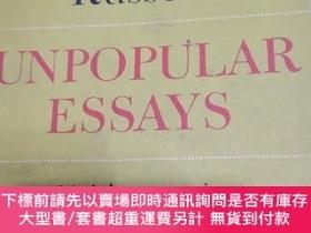 二手書博民逛書店羅素名著罕見Unpopular EssaysY26979 Bertrand Russell simon&amp
