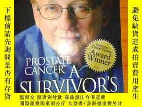 二手書博民逛書店PROSTATE罕見CANCER A SURVIVOR`S GU