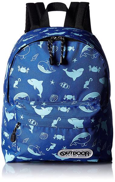 【日本代購】Outdoor Products 超輕量繽紛多彩後背包(小)-深藍