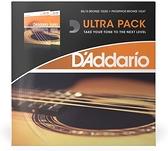 小叮噹的店- D'addario EZ900-EJ15 木吉他弦 組合包 Twin Pack 綜合民謠吉他弦