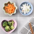 小麥秸稈調味碟 家用廚房塑料小吃碟【庫奇小舖】