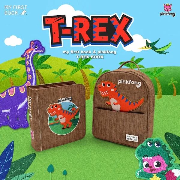 MY FIRST BOOK 蒙特梭利寶寶第一本書【Pinkfong x T Rex恐龍冊】