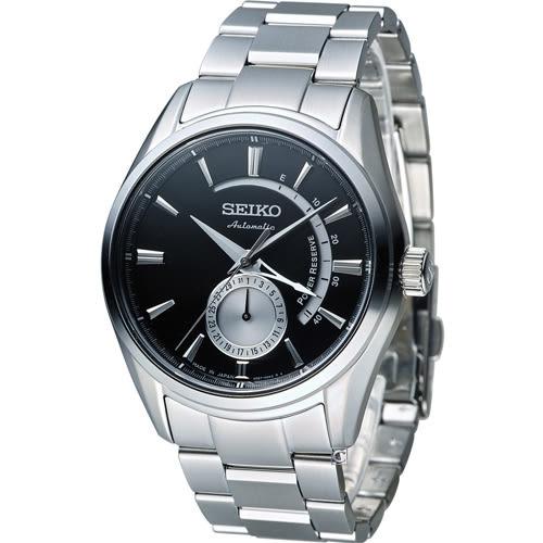 精工 SEIKO Presage 中央動力儲存顯示機械腕錶 4R57-00A0D