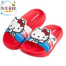 《布布童鞋》HelloKitty凱蒂貓水手服紅色超輕量兒童拖鞋(15~22公分) [ C0O374A ]