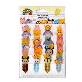 【收藏天地】迪士尼TsumTsum系列-書籤貼紙(6款)