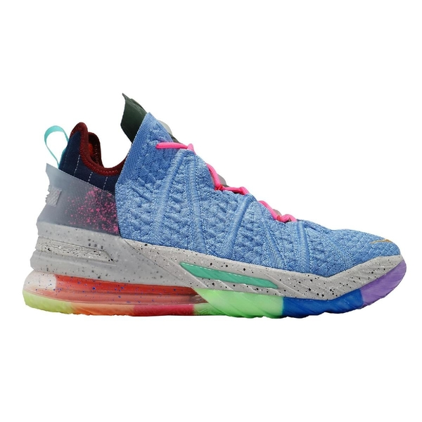 Nike 籃球鞋 Lebron XVIII EP 18 Best 1-9 彩色 詹姆斯 男鞋 氣墊 LBJ 【ACS】 DM2814-400