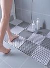 浴室防滑墊淋浴房洗澡洗手間衛生間地墊墊子廁所隔水防水鏤空整鋪