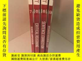 二手書博民逛書店manhattan罕見prep gmat(6、7、8 9)4本合售Y233119