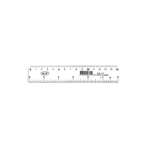 【奇奇文具】WIP HA15 15cm 直尺