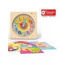 【德國 classic world 客來喜】經典木玩-熊熊時間學習遊戲 CLA3571