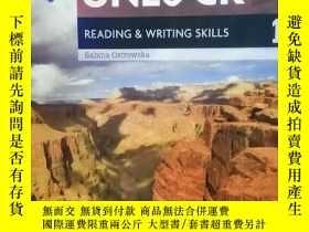 二手書博民逛書店Unlock罕見Level 1 Reading and Writ