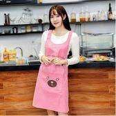 2017新款韓版時尚防水無袖成人廚房圍裙ASD1234『時尚玩家』