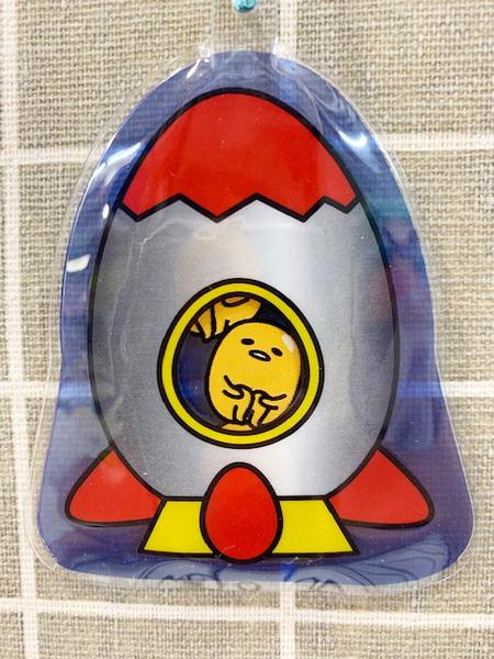 【震撼精品百貨】蛋黃哥Gudetama~三麗鷗蛋黃哥造型吊飾/鑰匙圈-火箭#04820