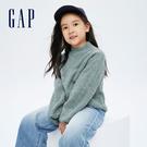 Gap女童 復古寬鬆落肩袖毛衣 7040...