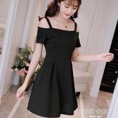 韓版顯瘦純色女裝修身大碼針織時尚吊帶洋裝 韓語空間