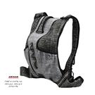 防割背心式背包-黑灰色 AMINAH~【Anti-Cut-01】