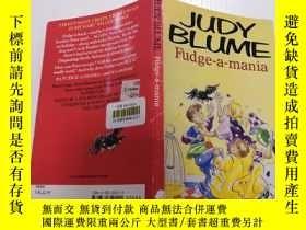 二手書博民逛書店JUDY罕見Blume Fudge-A-Mania:朱迪·布魯姆軟糖狂躁癥Y200392