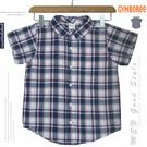 【大盤大】男童 GYMBOREE 4歲 純棉100% 短袖襯衫 經典格紋棉T 格子Shirt 休閒 百貨專櫃正品