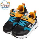《布布童鞋》KangaROOS袋鼠極速RacerEVO酷炫黑藍兒童運動鞋(19~23公分) [ W1A310D ]