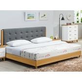 床架 床台 AT-21-1 寶格麗5尺床片式雙人床 (不含床墊) 【大眾家居舘】