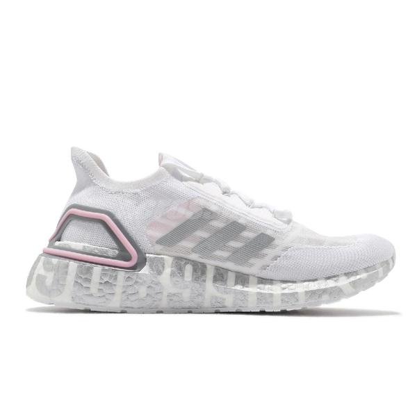 【六折特賣】adidas 慢跑鞋 UltraBOOST Summer.RDY DB 白 銀 男鞋 女鞋 涼感 透氣 運動鞋【ACS】 FX0576