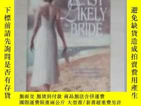 二手書博民逛書店英文原版罕見The Least Likely Bride by