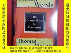 二手書博民逛書店Stolen罕見Words (The Classic Book