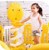 尾牙年貨節奧童 兒童籃球架寶寶可升降投球筐家用室內小孩投籃筐投籃架幼兒第七公社
