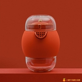 旅行功夫茶具便攜式快客杯一壺兩杯套裝【小橘子】