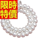 珍珠項鍊母親節禮物首飾品味出彩-質感淑女清新情人節禮物飾品53pe2【巴黎精品】