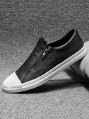 懶人鞋 春季一腳蹬男鞋子低幫潮流懶人鞋男士潮鞋休閒鞋板鞋男生 唯伊時尚