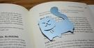 【收藏天地】創意小物*鋁合金質感書籤-波斯貓 (銀藍) / 藏書夾 生活文具 禮品 文青