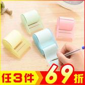 (買一送一) 馬卡龍色可撕便利貼 便簽紙(顏色隨機)【AE14041-2】99愛買生活百貨
