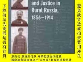 二手書博民逛書店Crime,罕見Cultural Conflict, And Justice In Rural Russia, 1