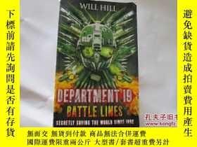 二手書博民逛書店DEPARTMENT罕見19 BATTLE LINES 【745