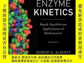 二手書博民逛書店Enzyme罕見Kinetics: Rapid-Equilibrium Applications of Mathe