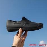雨鞋 男低筒時尚短筒防水鞋雨靴男防滑膠鞋廚房工作套鞋釣魚懶人鞋 全館免運