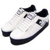 Royal Elastics 休閒鞋 Icon 白 藍 無鞋帶設計 皮革鞋面 運動鞋 男鞋【PUMP306】 02074059