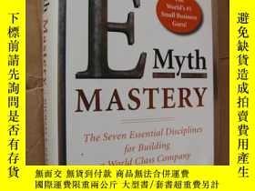 二手書博民逛書店E-Myth罕見Mastery: The Seven Essen