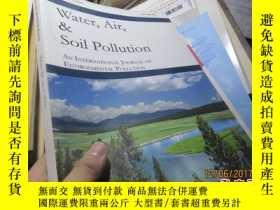 二手書博民逛書店water,air罕見,soil pollution volum