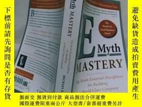 二手書博民逛書店實物拍照;E-Myth罕見Mastery: The Seven