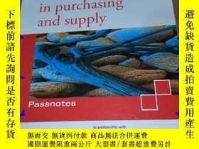 二手書博民逛書店effective罕見negotiation in purchasing and supplyY9766