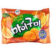 【限宅配】韓國 GS25 YOU US 橘子軟糖 66g【BG Shop】橘子造型軟糖~效期:2019.03