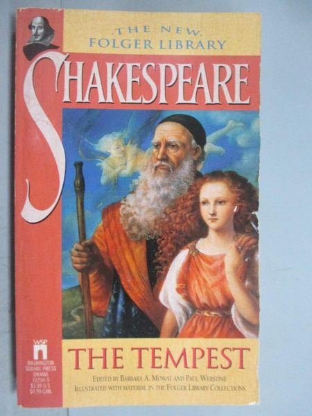 【書寶二手書T5/原文小說_GJE】The tempest / by William Shakespeare_Shake