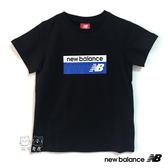 New Balance 童裝 2019新款 黑色 LOGO T恤 短T 童衣 NO.H2547