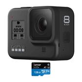 GoPro Hero 8 BLACK 運動相機 (台灣公司貨一年保固) 送128G記憶卡