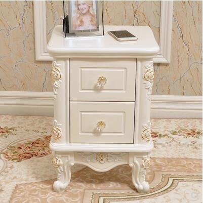 歐式床頭櫃簡約現代小櫃子簡易迷你床頭櫃/整裝