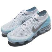 Nike Wmns Air VaporMax Flyknit 雪花 藍 銀 飛線編織 大氣墊 運動鞋 女鞋【PUMP306】 849557-014
