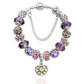 串珠手環-水晶飾品唯美復古鑲鑽閃耀女配件73kc150【時尚巴黎】